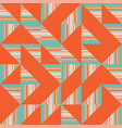 abstract truchet geometric seamless pattern vector image