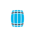 barrel icon colored symbol premium quality vector image