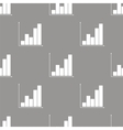 Chart seamless pattern vector image vector image