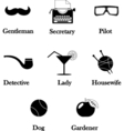 hipster detective icon vector image vector image