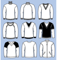man casual sweaters vector image vector image