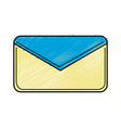 nice letter close with important message vector image vector image