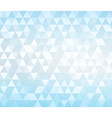 Triangle blue background vector image vector image