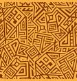 creative geometric seamless pattern vector image vector image