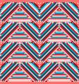 ethnic tribal zigzag seamless pattern vector image vector image