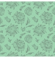 Green Provence Pattern vector image