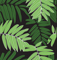 leaf seamless pattern2 vector image vector image