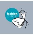 logo clothing vector image vector image