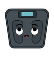 scale weight measure kawaii character vector image