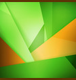 abstract background soft blurred green and orange vector image vector image