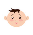 cute baby cartoon vector image vector image