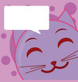 cute emoji cartoon concept vector image