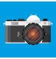 retro photo camera vector image vector image