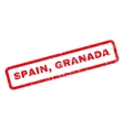 Spain Granada Rubber Stamp vector image vector image