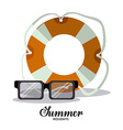 Summer Glasses design vector image vector image