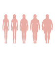 body mass index vector image vector image