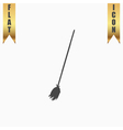 Broom icon vector image vector image