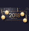 happy new year merry christmas background vector image vector image