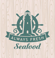 seafood shop vector image vector image