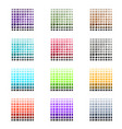 tile and stone color palette set vector image vector image