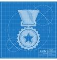 Flat medal vector image