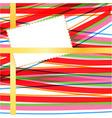 card abstract bg vector image