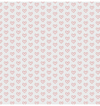 Hearts seamless pattern background vector image vector image