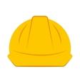 helmet worker security icon vector image vector image