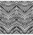 seamless pattern with zigzag lines vector image vector image