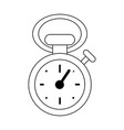 vintage sport chronometer vector image vector image