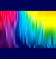 wave banner colorful fluid shapes in movement vector image vector image