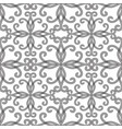 black and white vintage ornamental seamless vector image