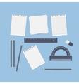 Desktop engineer designer vector image