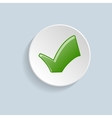 Green Checkmark vector image vector image