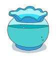 icon fishing port vector image vector image