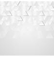 Light grey technology geometric background vector image