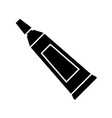 paint tube icon vector image vector image