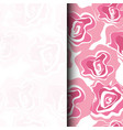 seamless patern graphic roses on a background vector image