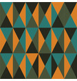 seamless repeating background of triangles vector image
