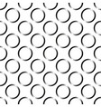 seamless wallpaper pattern with circles vector image vector image