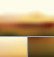 Blurred Abstract Nature Background Rocky Fall vector image