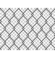 Steel mesh metal fence seamless transparent vector image