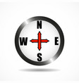 compass icon sign vector image