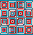 geometric square seamless pattern vector image