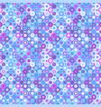 geometrical abstract colorful circle mosaic vector image vector image