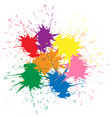 indian festival holi celebrations vector image