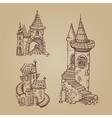 Medieval castles vector image