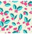 Mistletoe seamless pattern vector image