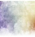 pastel watercolor texture vector image vector image