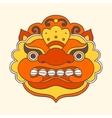 Traditional balinese mask Barong vector image vector image